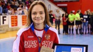 Подмосковная спортсменка стала лучшим бомбардиром чемпионата Европы по индорхоккею