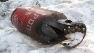 Пять человек пострадали при взрыве газового баллона на ферме