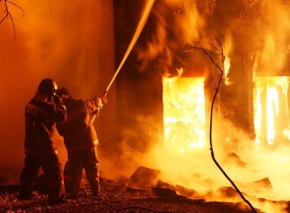 В Волоколамском районе возбуждено уголовное дело по факту смерти женщины и ее дочери в результате пожара