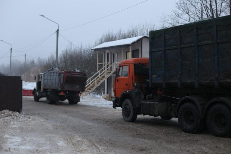 Ухудшение ситуации на полигоне «Ядрово» в Волоколамском районе
