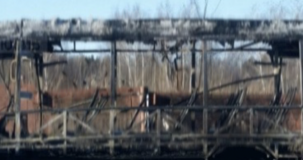 Рейсовый автобус сгорел в результате ДТП в Подмосковье