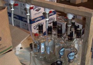 Подпольное производство алкоголя обнаружили в Подмосковье