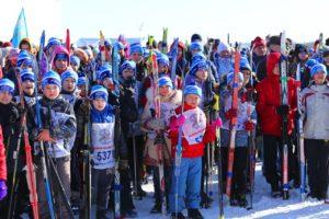 Более 20 тысяч человек примут участие в «Лыжне России»
