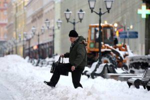 Московский регион снова накроет снегом