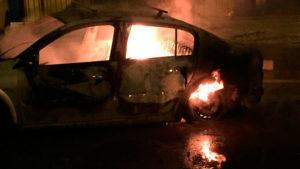 Четыре автомобиля сгорели ночью в Звенигороде