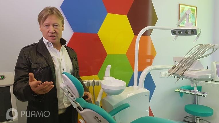 Стоматологический кабинет открыли в школе Красногорска при поддержке Харатьяна