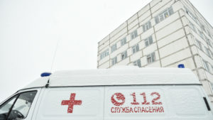 Мужчину с ножевым ранением госпитализировали в больницу в Истре