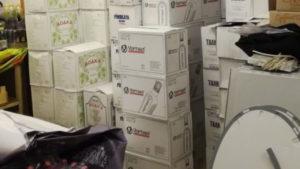Склад с фальсифицированным алкоголем ликвидировали в Подмосковье
