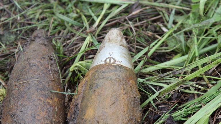 Артиллерийские снаряды времен ВОВ нашли в Истре