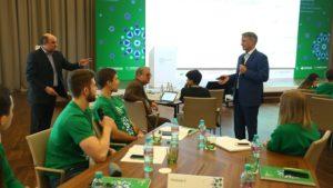 Герман Греф открыл в Истре зимнюю школу для участников студенческой олимпиады по экономике