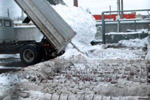 Около 23 тыс кубометров снега в Истре расплавили с начала года