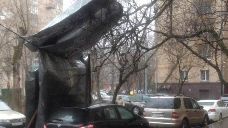 Из-за урагана в Московской области погибли люди