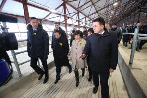 Воробьев принял участие в открытии вьетнамского комплекса молочного животноводства в Волоколамском районе