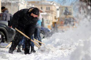 Неделя понадобится для вывоза снега с территории муниципалитетов Подмосковья