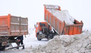 Несанкционированный сброс тысячи кубометров снега пресекли в Подмосковье