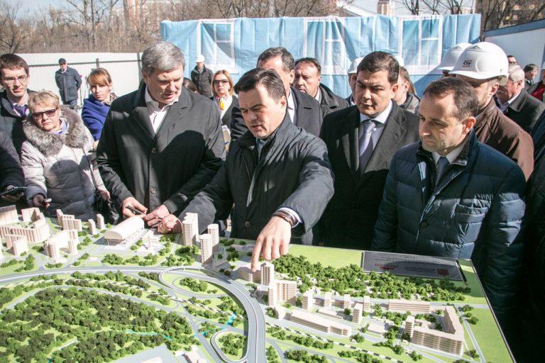 Первый этап развязки Волоколамского и Ильинского шоссе откроется в 2018 году